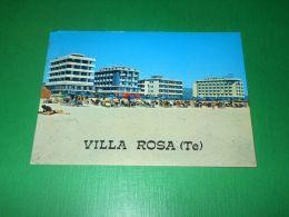 Cartolina Villa Rosa ( Teramo ) - La Spiaggia 1979 - Teramo