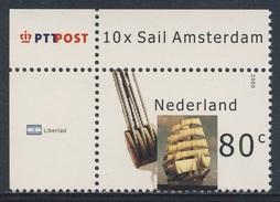 Nederland Netherlands Pays Bas 2000 Mi 1807 ** ARA Libertad - Tall Ship, Argentina / Dreimaster Segelschiff - Barche