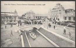 Fine Art Palace, Franco-British Exhibition, London, 1908 - Valentine's Postcard - Exhibitions