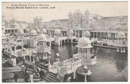 Swan Boats, Franco-British Exhibition, London, 1908 - Valentine's Postcard - Exhibitions