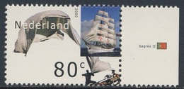 Nederland Netherlands Pays Bas 2000 Mi 1812 ** Sagres II (1937) - Tall Ship, Portugal / Dreimasterbark - Barche