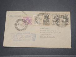 BRÉSIL - Enveloppe Par Avion De Récife - Pernambuco Pour Rio De Janeiro En 1942 , Affranchissement Plaisant - L 8256 - Brazil