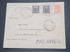 """BRÉSIL - 1er Vol """" Recife / Natal """" En 1930 , Affranchissement Plaisant - L 8258 - Brazil"""