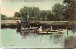 YERRES - La Prairie Et Les Bords De L' Yerresz - Barques    (97220) - Yerres