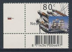 Nederland Netherlands Pays Bas 2000 Mi 1815 ** Mir (1987) - Tall Ship, Russia / Vollschiff - Boten