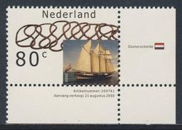 Nederland Netherlands Pays Bas 2000 Mi 1815 ** Oosterschelde (1918) - Tall Ship, Nederland / Toppsegelschoner - Barche