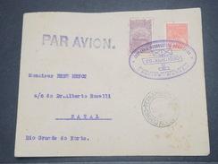 """BRÉSIL - 1er Vol """" Recife / Natal """" En 1930 , Affranchissement Plaisant - L 8259 - Brazil"""