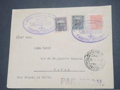 """BRÉSIL - 1er Vol """" Recife / Natal """" En 1930 , Affranchissement Plaisant - L 8260 - Brazil"""