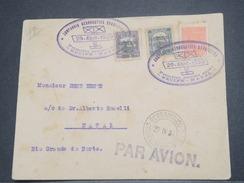 """BRÉSIL - 1er Vol """" Recife / Natal """" En 1930 , Affranchissement Plaisant - L 8262 - Brazil"""