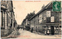 27 RUGLES - Rue De La Gare  (Recto/Verso) - Other Municipalities