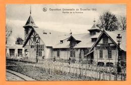 Bruxelles. Exposition Universelle De 1910. Pavillon De La Fermière. - Expositions Universelles