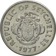 Seychelles, Cent, 1977, British Royal Mint, FDC, Aluminium, KM:30 - Seychelles