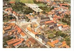 Ellezelles (Hainaut)-Vue Aérienne De La Ville-L'Eglise-Le Cimetière-Edit. Lib;Wallemacq - Ellezelles