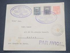 """BRÉSIL - 1er Vol """" Recife / Natal """" En 1930 , Affranchissement Plaisant - L 8263 - Brazil"""