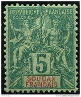 Soudan (1894) N 6 * (charniere) - Soudan (1894-1902)