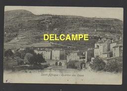 DD / 12 AVEYRON / SAINT-AFFRIQUE / QUARTIER DES CAZES / CIRCULÉE EN 1905 - Saint Affrique