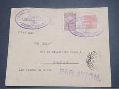 """BRÉSIL - 1er Vol """" Recife / Natal """" En 1930 , Affranchissement Plaisant - L 8266A - Brazil"""