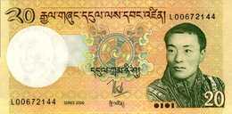 BHOUTAN  20  NGULTRUM  De 2006  Pick 30a  UNC/NEUF - Bhoutan