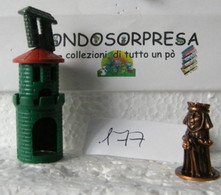 MONDOSORPRESA, (SC96-177) FERRERO, CASTELLO MEDIOEVALI, K98 N102 - Figurine In Metallo