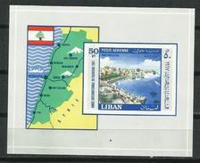 Líbano_1967_Año Internacional Del Turismo HB - Líbano