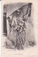 At - Cpa Femme Mauresque - Tunesië