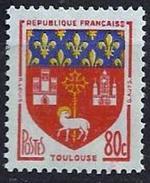 France - YT 1182 - Armoiries De Villes (III) - Toulouse - Neuf Avec Charnière Légère - France
