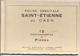 Carnet De 12 Cartes Eglise Abbatiale Saint Etienne De Caen - Caen