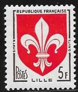 France - YT 1186 - Armoiries De Villes (III) - Lille - Neuf Gomme Intacte - France