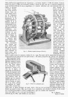 MACHINE MAGNETO-ELECTRIQUE De MERITENS   1879 - Non Classés