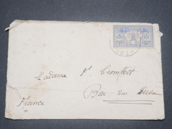 NOUVELLES HÉBRIDES - Enveloppe Pour La France En 1928 - L 8294 - French Legend