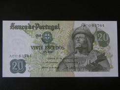Portugal  - 20 Escudos  1971 -  UNC - Portugal