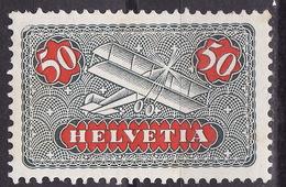 SWITZERLAND 1923 AIRMAIL Mi 184z  MH* - Ungebraucht