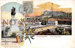 Egypte - Alexandrie - Fort Napoléon - Statue De Mohamed Ali - Alexandria