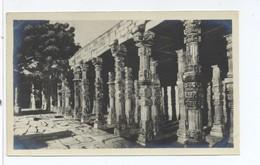 Post Card  Colonade Of Hindu Temple Qutab DELHI - India