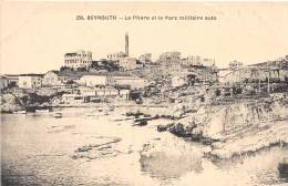 LIBAN - Beyrouth H.N / Le Phare Et Le Parc Militaire Auto - Liban