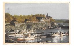 (14803-00) Akershus Fra Pipervika - Castle - Oslo - Bateaux - Sweden