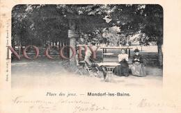 Luxembourg - Mondorf Les Bains - Place Des Jeux - Mondorf-les-Bains