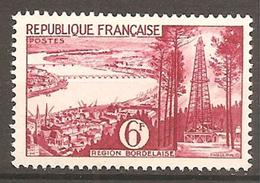 France - YT 1036 - Série Touristique - Région Bordelaise (La Gironde Et Puits De Pétrole De Parentis) Neuf Avec Légère - France