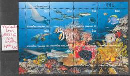 Poisson - Thaïlande (Siam) N°1958 à 1966 2001 ** - Vie Marine