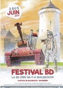Programme HERMANN Festival BD Malbrouck 2017 (Jérémiah, Bois Maury...) - Livres, BD, Revues