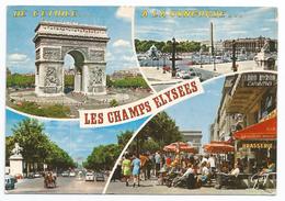 Paris, Les Champs Elysees. Vedutine - Piazze