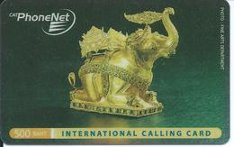 éléphant Elephant Animal  Carte Card  Karte (S.96) - Thaïlande