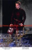 Roberto Frontali Opera Signed Photo 11x17cm - Autographes