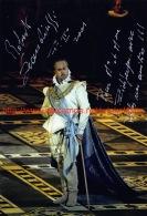 Roberto Scandiuzzi Opera Signed Photo 13x19cm - Autographes