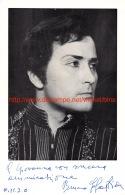 Bruno Sebastian Opera Signed Photo 15x23cm - Autographes