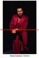 Roberto Scanduzzi Opera Photo 12,5x18,5cm - Mefistofele - Photos
