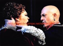 Marco Vratogna Opera Signed Photo 17x12,5cm - Autographes