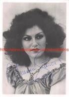 Miriam Gauci Opera Signed Photo 12,5x17,5cm - Autographes