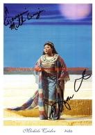 Michele Crider Opera Signed Photo 15x21cm - Aida - Autographes