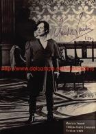 Maurizio Frusoni Opera Signed Photo 13x18cm - Tosca Firenze 1972 - Autographes